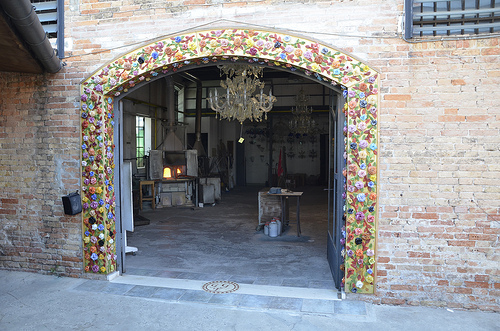 One of the few surviving  bead factories on Murano Island. SpirosK Photography/ Flickr
